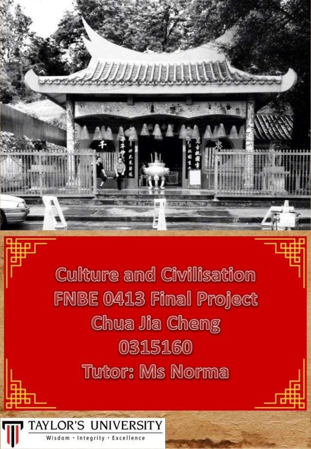 For this project there are 3 main cultures which are food cultures, architecture culture, and activities culture. Among th...