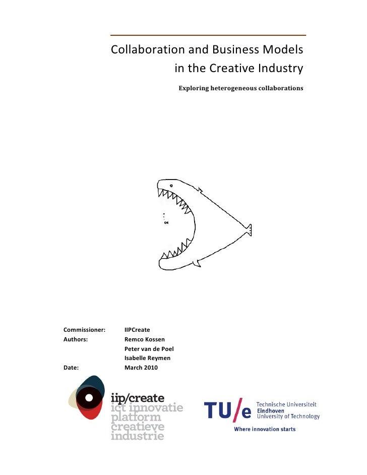 CollaborationandBusinessModels                             intheCreativeIndustry                                 ...