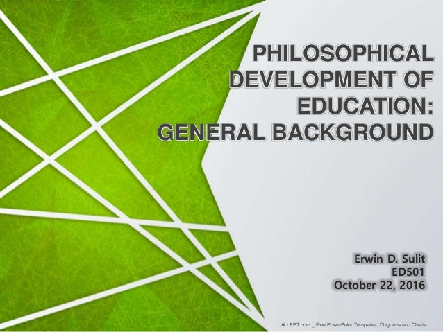 Philosophical development of education philosophical development of education general background allppt free powerpoint templates toneelgroepblik Gallery