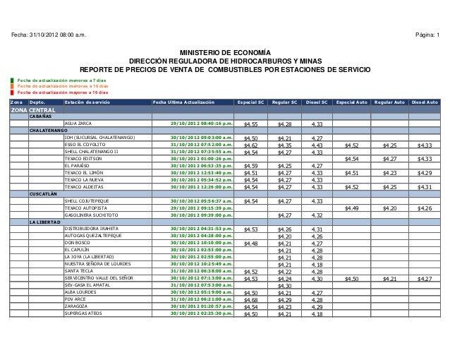 Fecha: 31/10/2012 08:00 a.m.                                                                                              ...