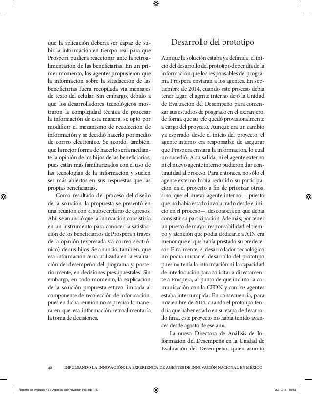 impulsandolainnovación:laexperienciadeagentesdeinnovaciónnacionalenméxico40 que la aplicación debería ser capaz de su- bir...