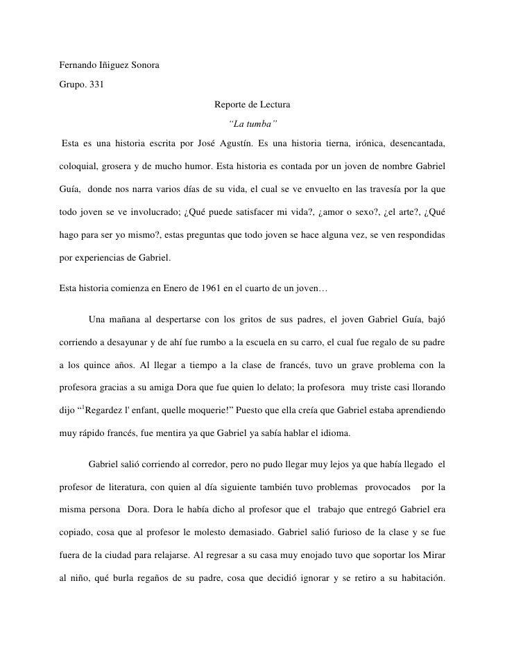 Fernando Iñiguez SonoraGrupo. 331                                       Reporte de Lectura                                ...