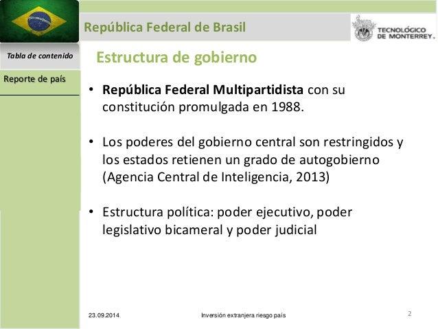 Análisis De Brasil