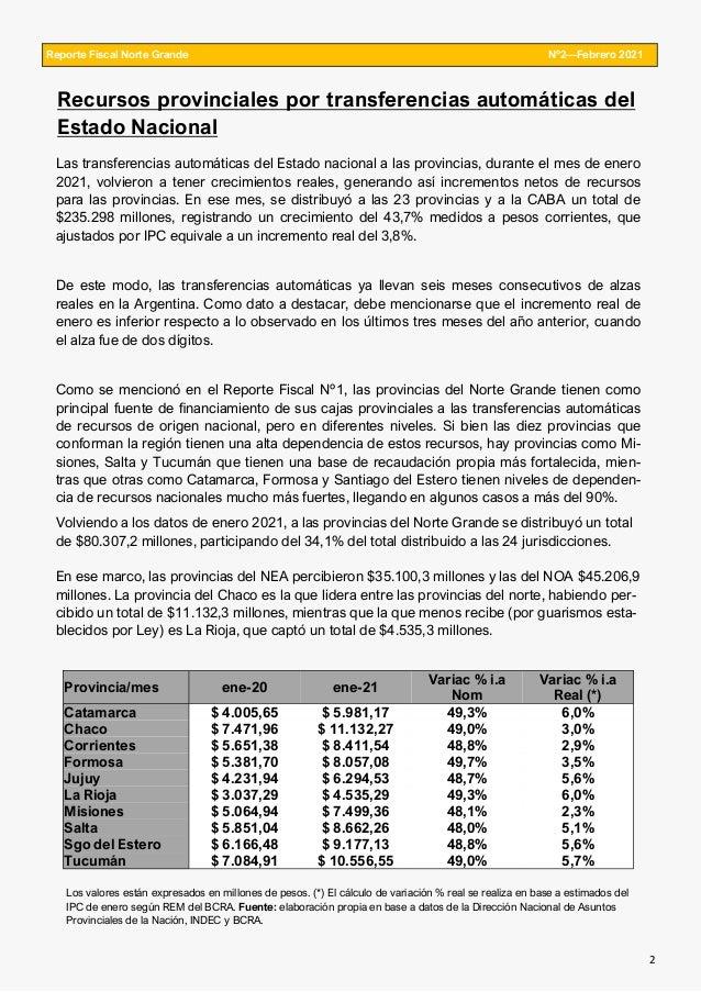 Reporte Fiscal Norte Grande edición 2 Slide 2