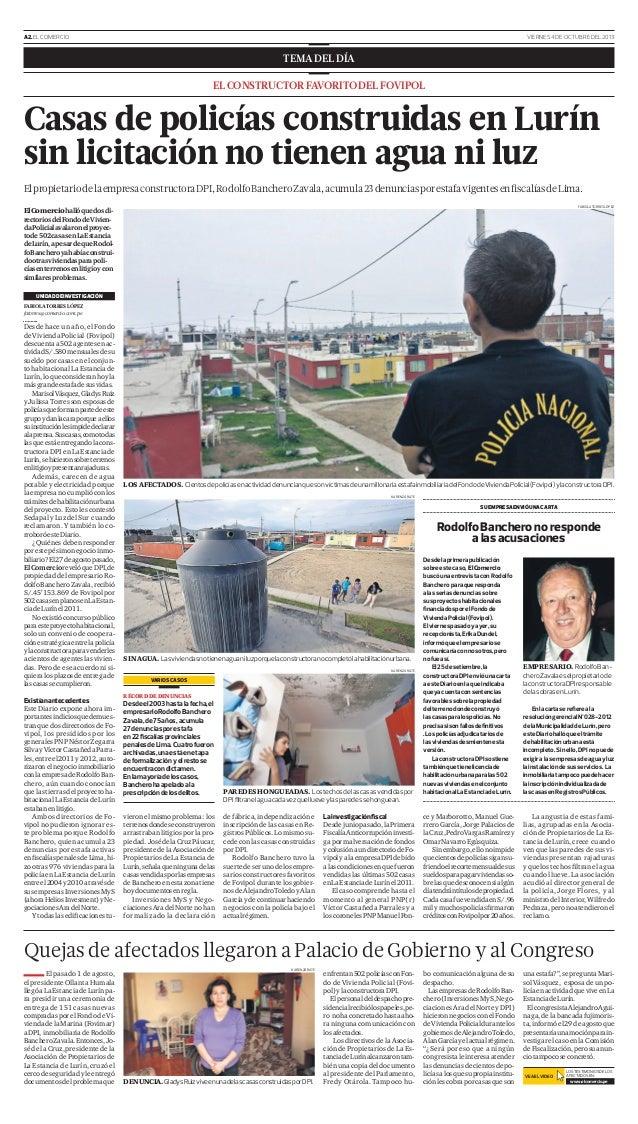 Rodolfo banchero zavala el empresario constructor de - Constructor de casas ...