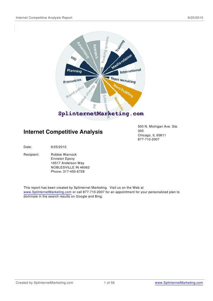 Internet Competitive Analysis Report                                                                     9/25/2010        ...