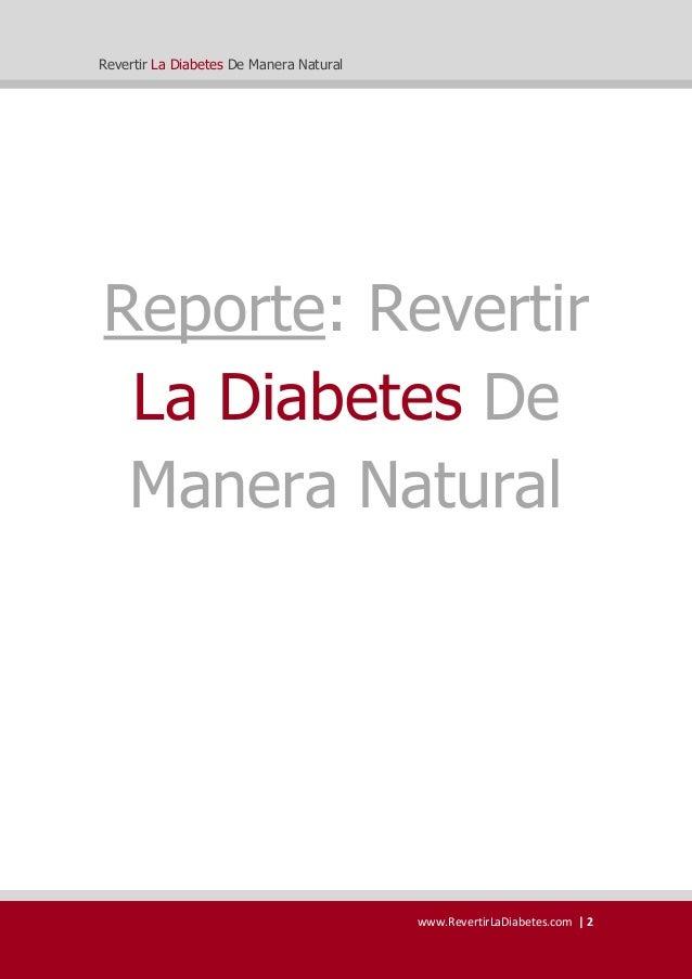 Como Revertir la diabetes libro Gratis de Sergio Russo