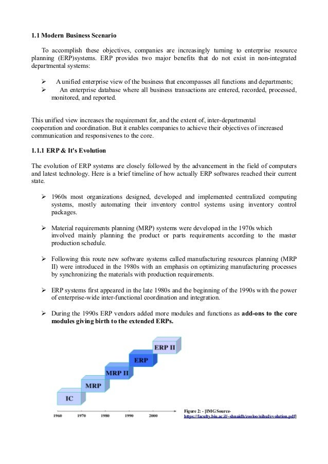 erp case study with solution pdf