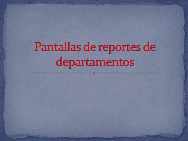 Reportes de catalogos Slide 2