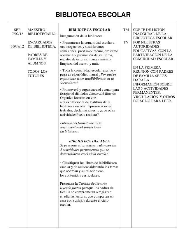BIBLIOTECA ESCOLAR SEP.      MAESTRO                BIBLIOTECA ESCOLAR                    TM   CORTE DE LISTÓN7/09/12    B...