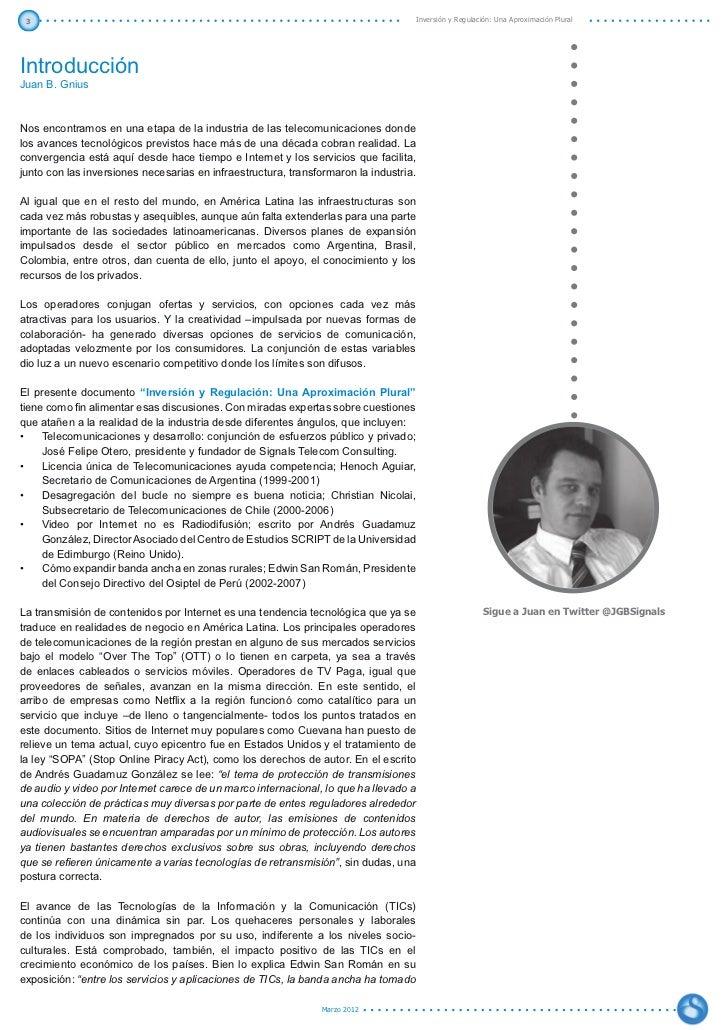 Inversión y Regulación: Una Aproximación Plural Slide 3