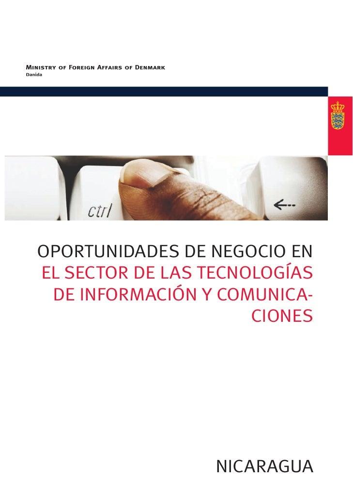 OpOrtunidades de negOciO enel sectOr de las tecnOlOgías de infOrmación y cOmunica-                      ciOnes            ...