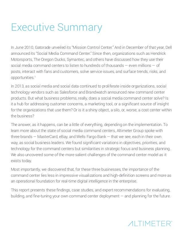 [Report] Shiny Object or Digital Intelligence Hub? Evolution of the Enterprise Social Media Command Center, by Susan Etlinger Slide 2