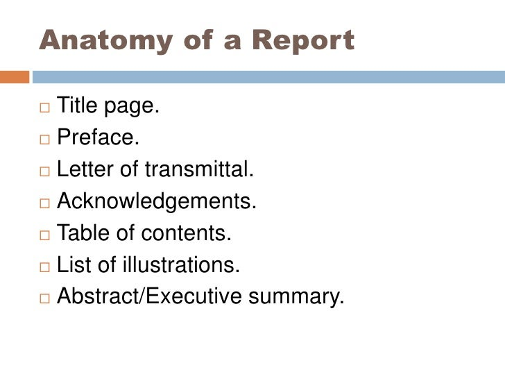 justification report with executive summary page transmittal page and table of contents View essay - assignment 23 part 3 ajsdocx from eng 315 at strayer super structure for justification report title page page 2 transmittal letter page 3 table of contents page 4 executive summary.