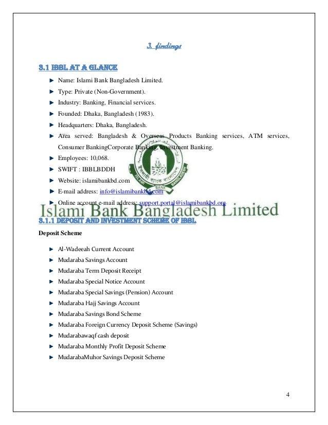 Modes of Investment      Bai-Murabaha      Bai-Muajjal      Hire Purchase Under ShirkatulMelk      Mudaraba      Musharaka...