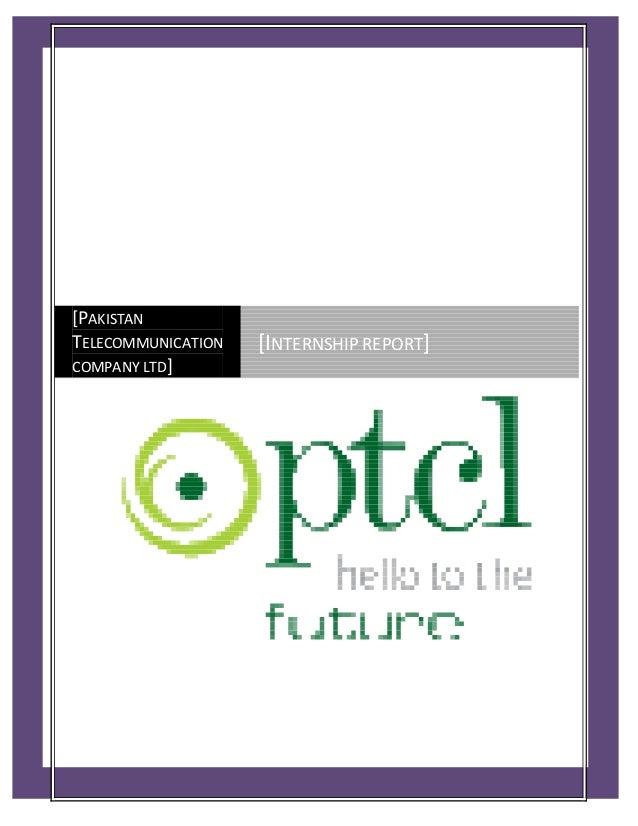 Pakistan Telecommunication Company Limited - PTCL