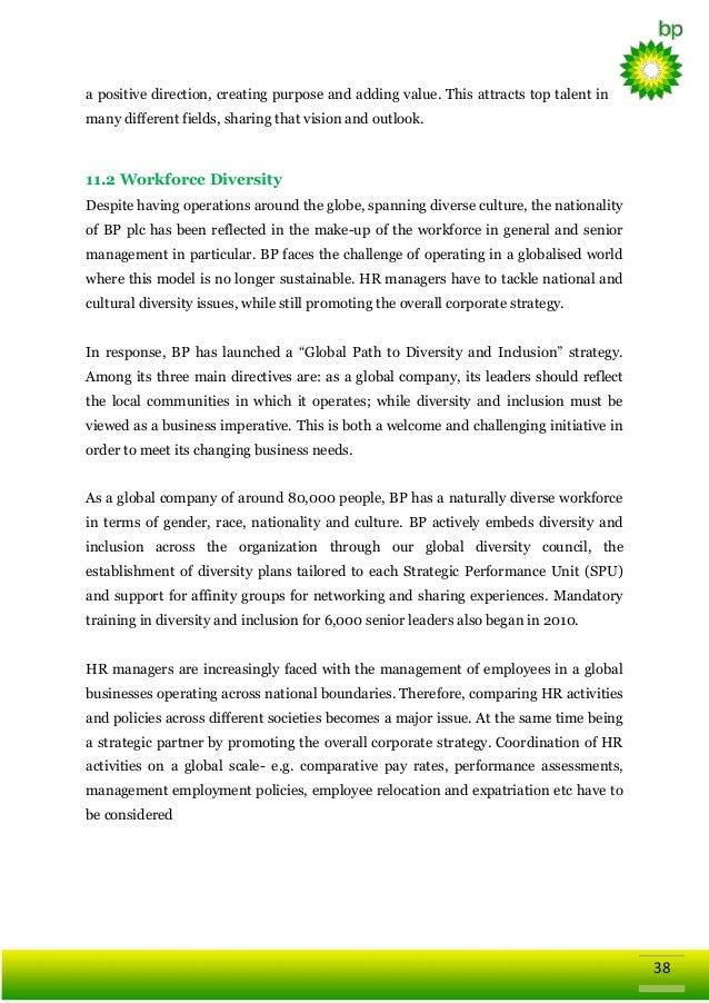 Global Business Strategy of British Petroleum (BP)