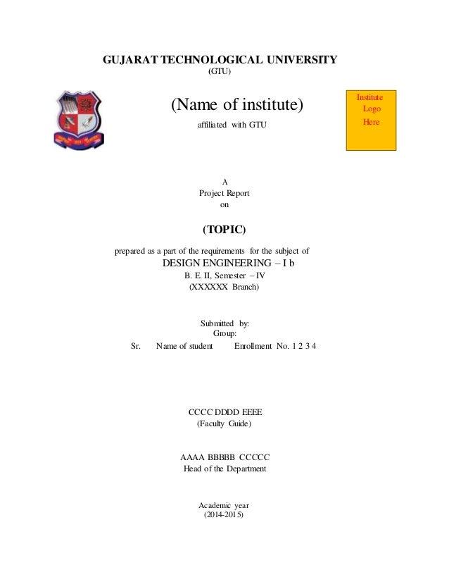 de1b report format