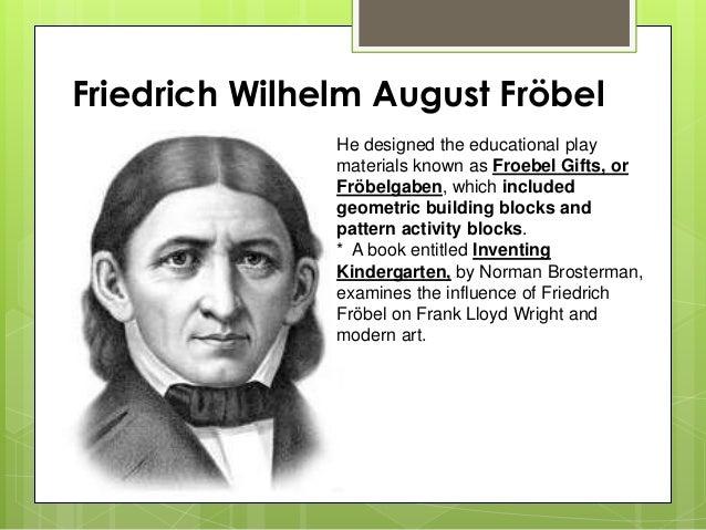 Report froebel and herbart