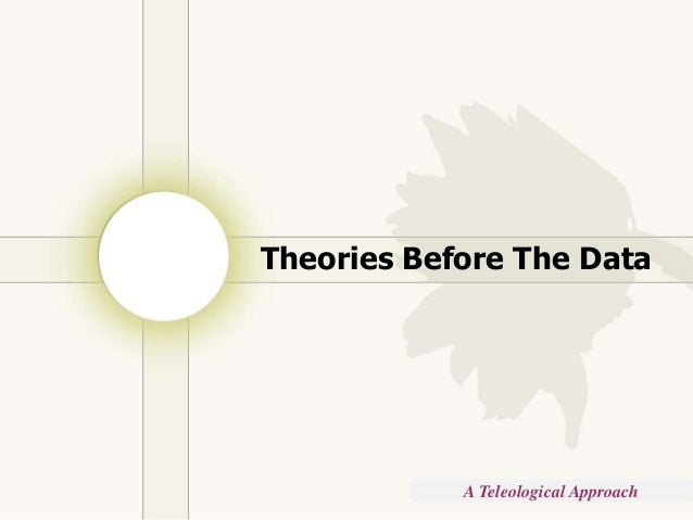 Copyright © Wondershare Software Theories Before The Data A Teleological Approach