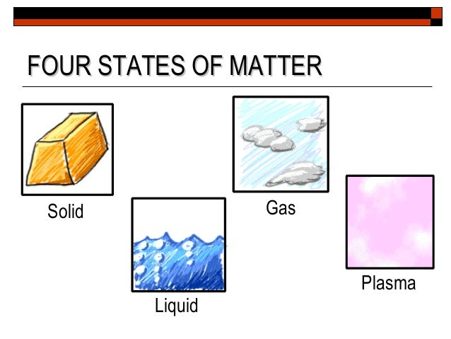 States and Changes (Matter)