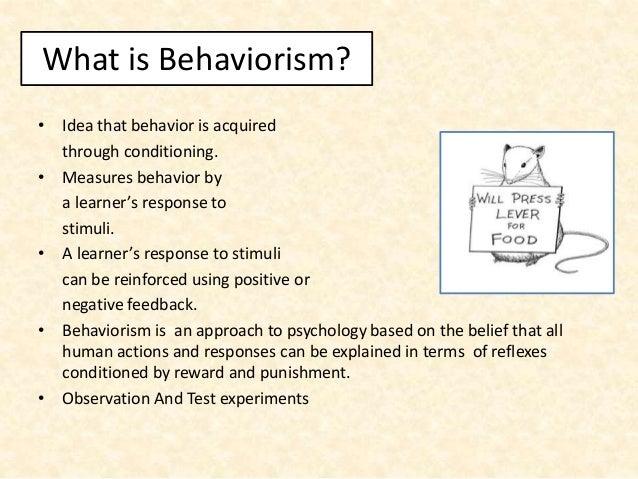 Behaviorism