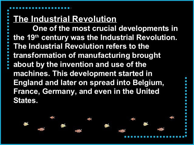 industrial revolution summary Historysagecom ap euro lecture notes page 3 unit 6: industrial revolution © 2006 historysagecom all rights reserved 7 $˚ ˜ ˛ ˚ ˜˛ ˜ n.