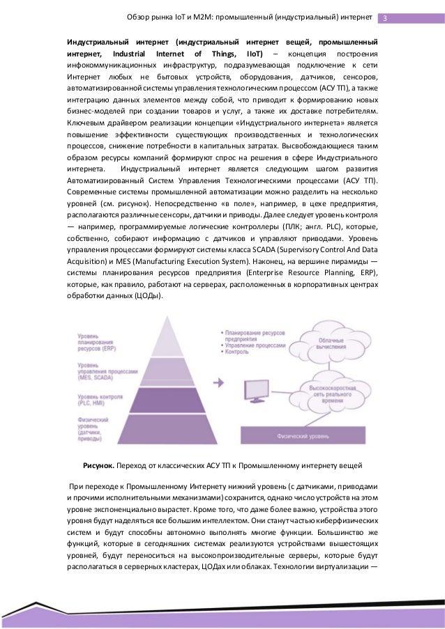 Промышленный (индустриальный) интернет в России и мире  Slide 3