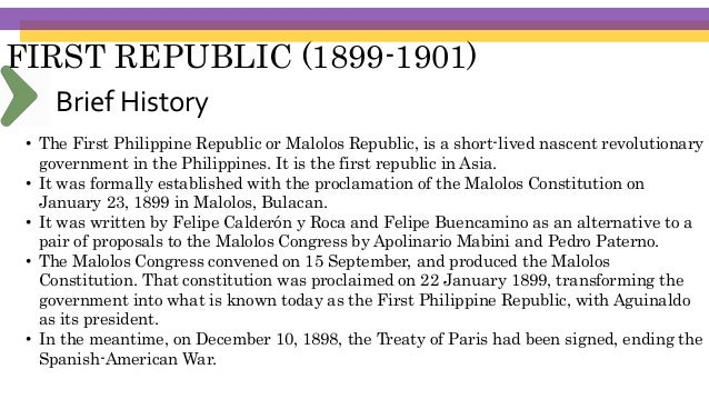 FIRST REPUBLIC (1899-1901) ARTICLE XIV- EDUCATION, SCIENCE AND TECHNOLOGY, ARTS, CULTURE AND SPORTS Section 2. (1) Complet...