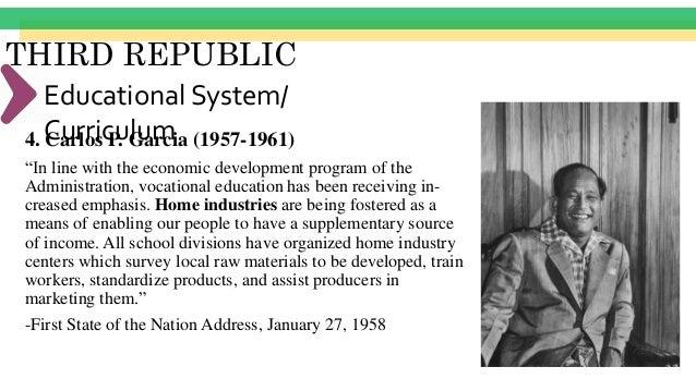 THIRD REPUBLIC Summary Fundamental Objectives -Citizenship -Morality -Democracy -Industry -Family Responsibility -Use of l...