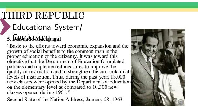 THIRD REPUBLIC Educational Program •The concept of academic freedom •Only universities established by the State •Religious...