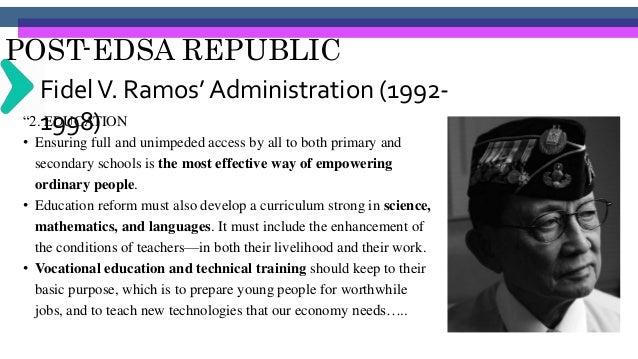 POST-EDSA REPUBLIC Joseph Estrada's Administration (1998- 2001)EXECUTIVE ORDER NO. 46 ESTABLISHING THE PRESIDENTIAL COMMIS...