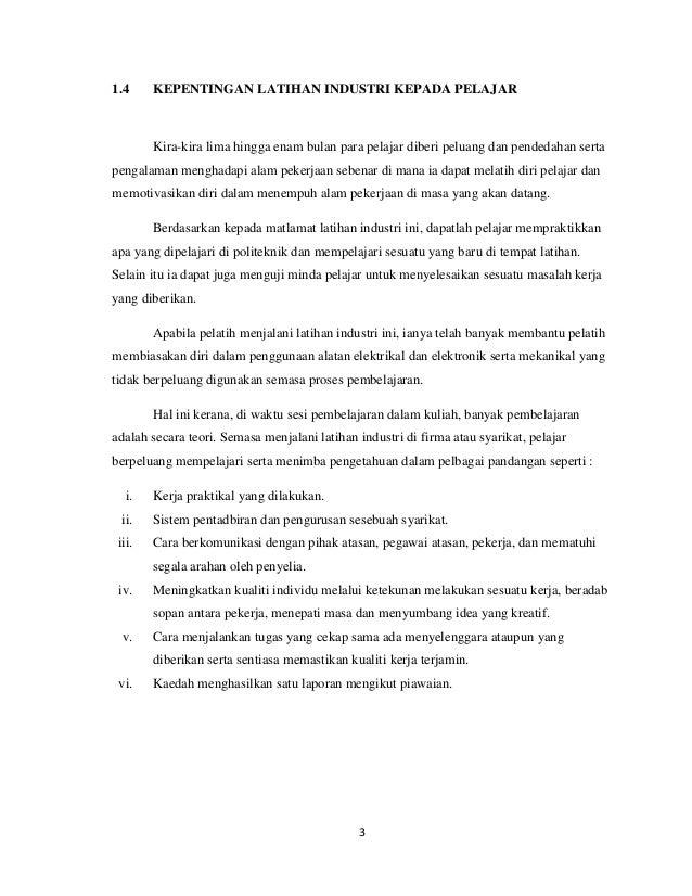 Kesimpulan Laporan Latihan Industri Komputer