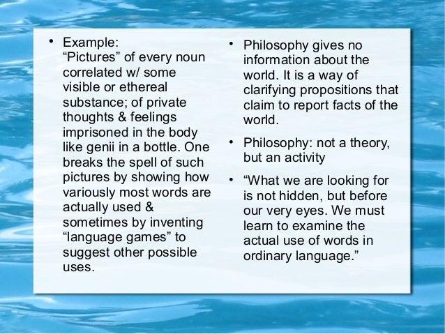 Report Logical Empiricism