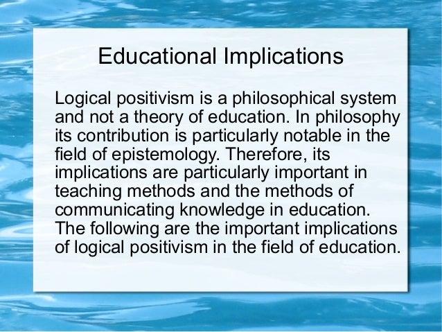Logical Empiricism