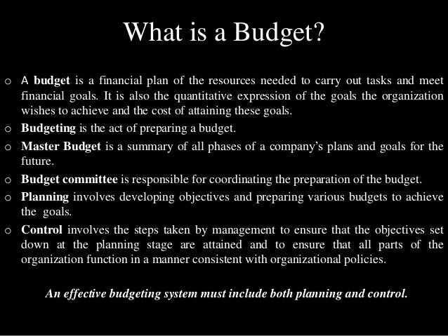 master budget analysis Acct 355 will take you through  incremental analysis and  lesson 7: pricing and inventory decisions lesson 8: budgetary planning: the master budget.