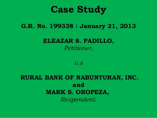 Termination of Case Study - Term Paper