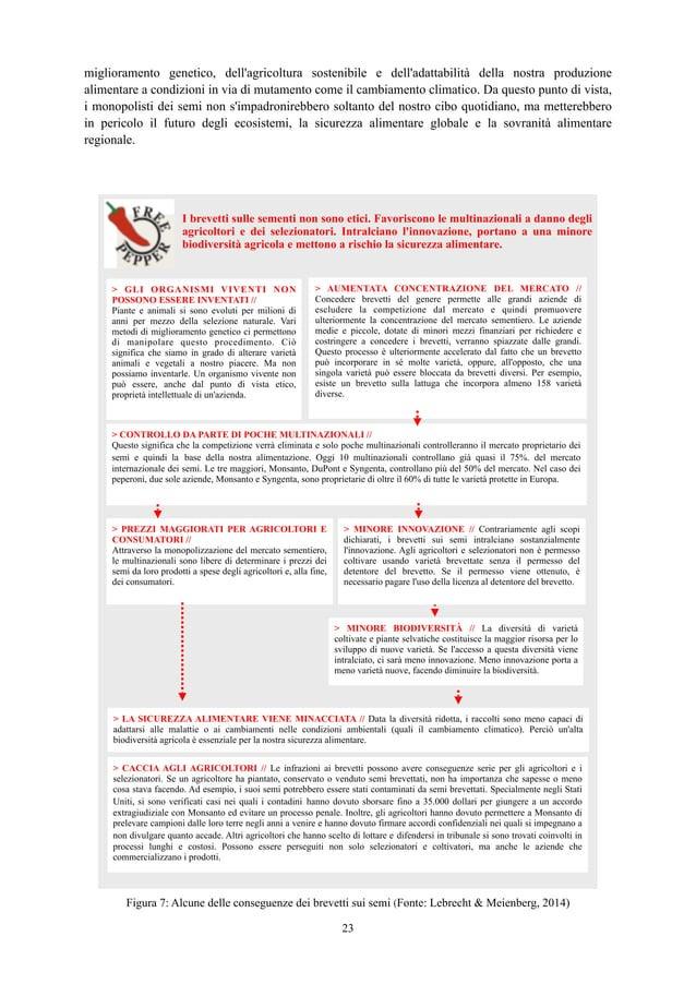 miglioramento genetico, dell'agricoltura sostenibile e dell'adattabilità della nostra produzione alimentare a condizioni i...