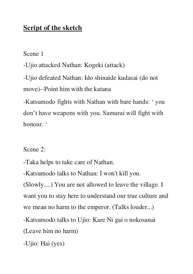 4 Script Of The