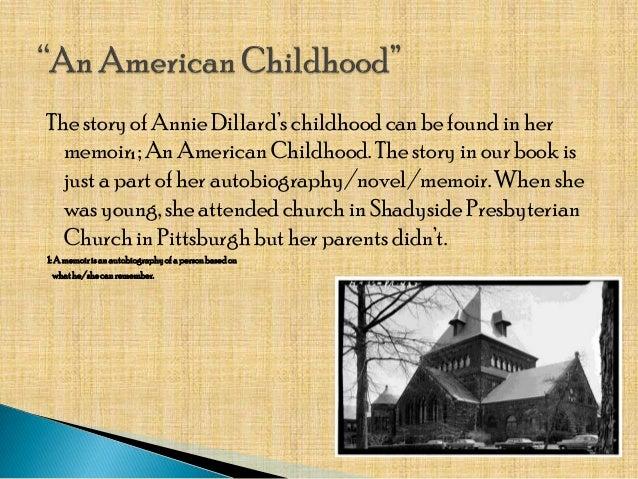 an american childhood dillard essay