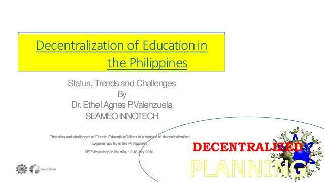 Decentralized planning (economics)