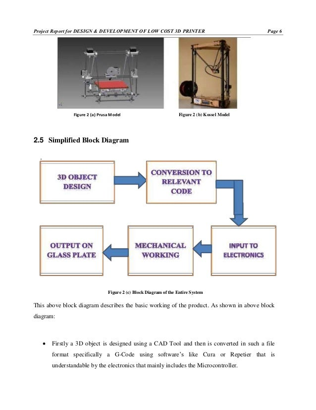 report on design and development of low cost 3d printer rh slideshare net Printer Set Up Diagram 3D Printer Ramps Diagram
