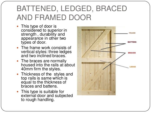 Report on doors