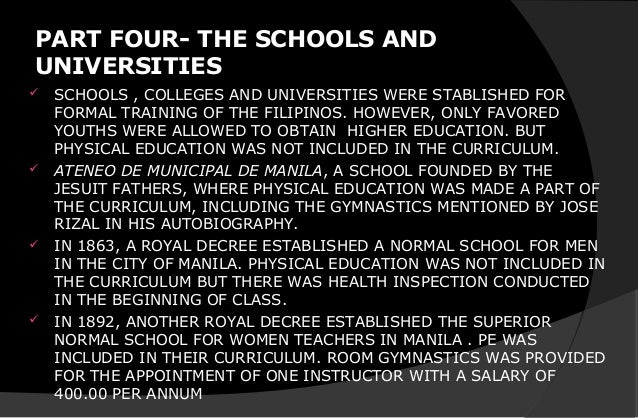 Foundation on Physical Education
