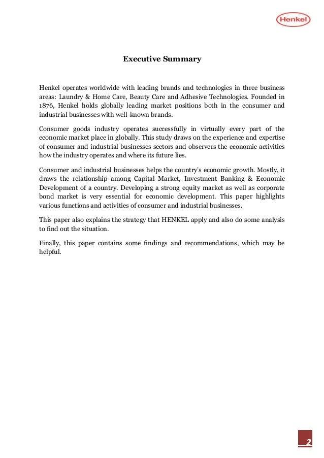blue ocean strategy at henkel case study