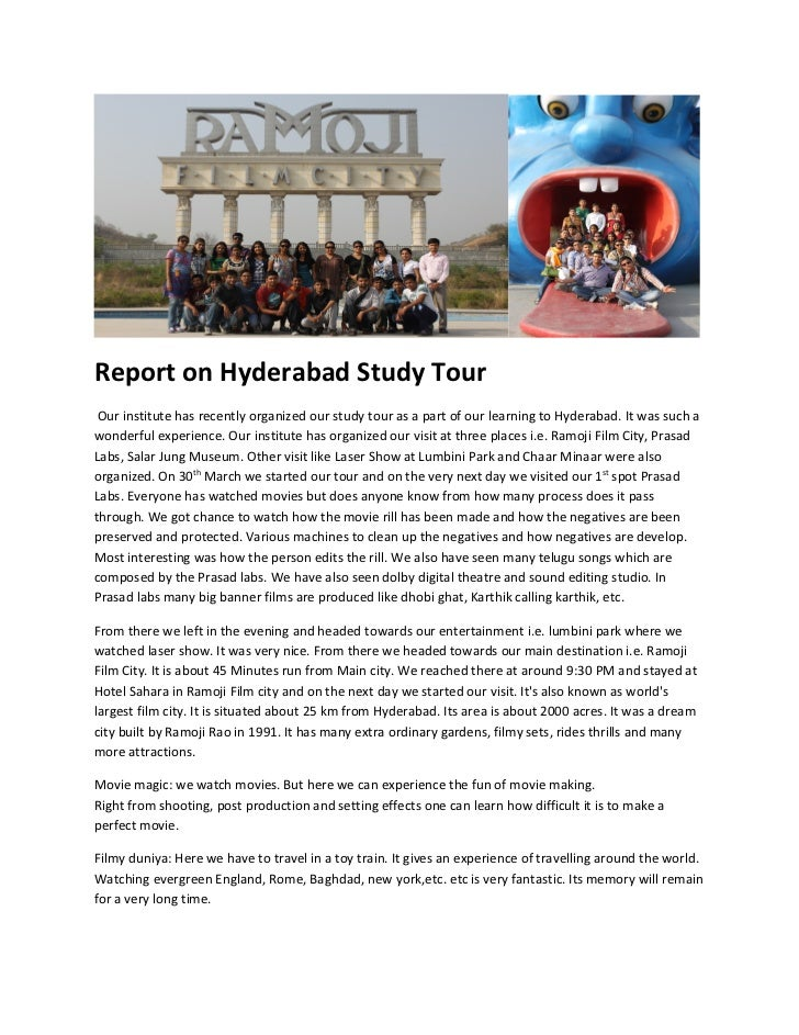 essay on study tour Below is a pdf link to personal statements and application essays representing strong efforts by students applying for both undergraduate and graduate opportunities.