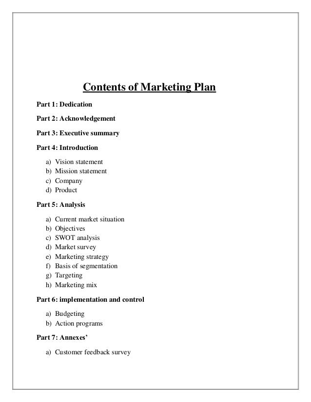 thesis paper on marketing strategy
