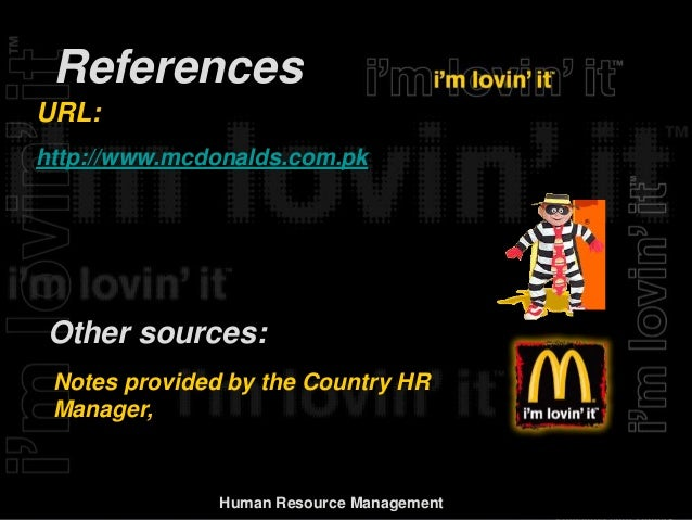 mcdonalds managing performance Introduction change management can be defined as 'the process of continually renewing an organisation's direction, structure, and capabilities to serve the ever.