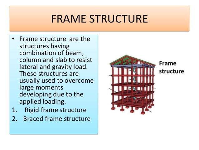 Report on rigid frame structures