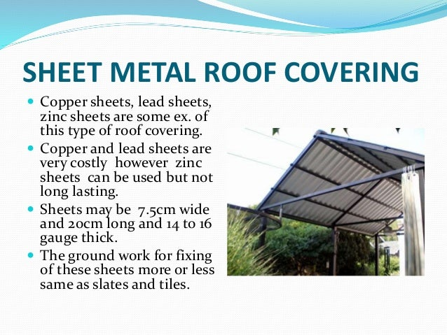 Types of roof tiles ppt the elaborate floor pattern of the for Types of roof covering materials